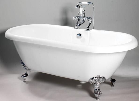 Resurfacing a Roll-Top Bath | Bath Resurfacing, Bath Re Enamelling ...