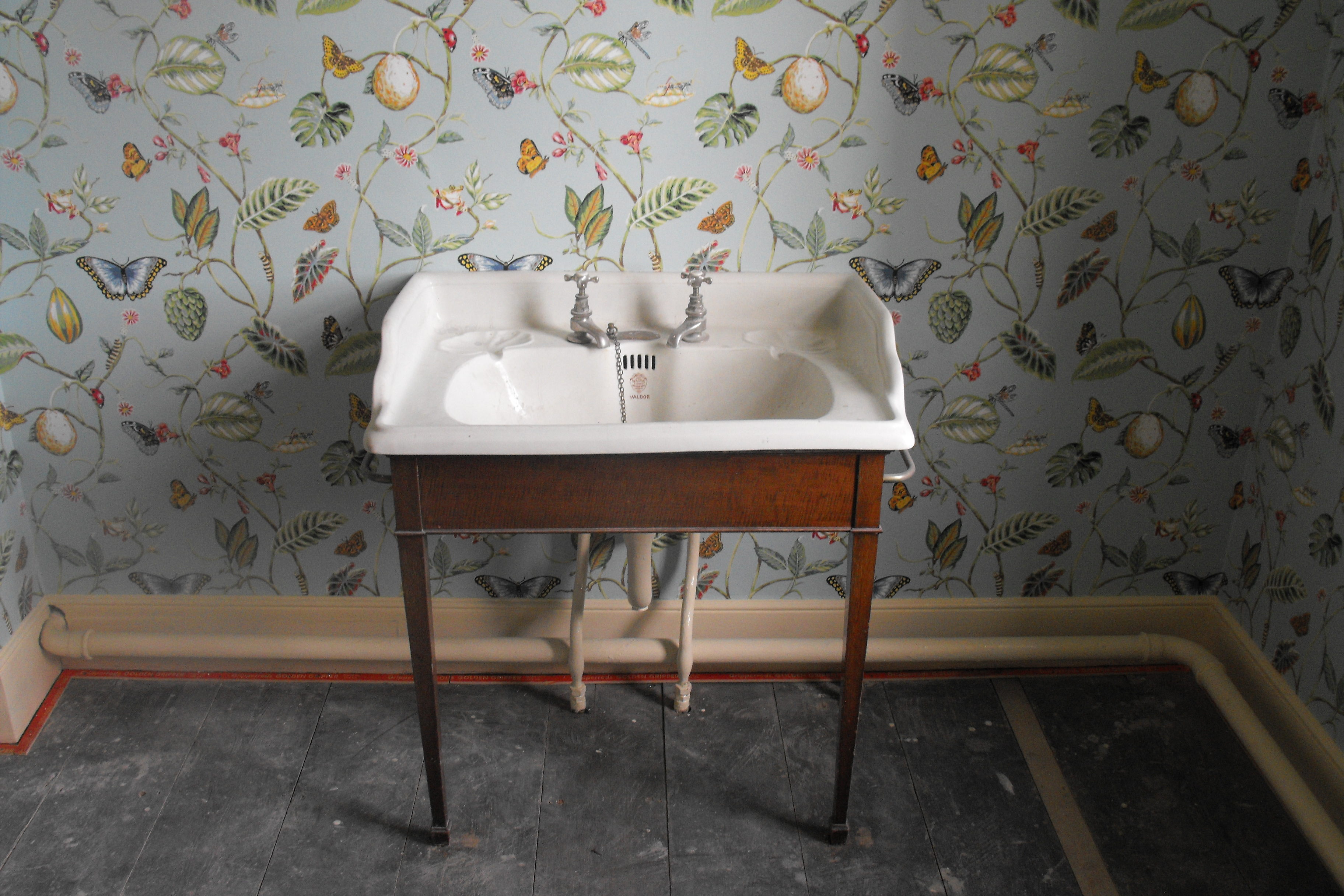 Old Sink : we were asked to restore some old antique sinks in an old property ...