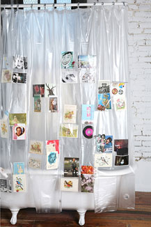 This Clear Shower Curtain